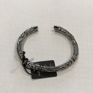 Other - Incrusted steel bangle